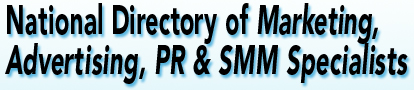 National Directory of Marketing, Advertising, PR & Social Media Marketing Experts