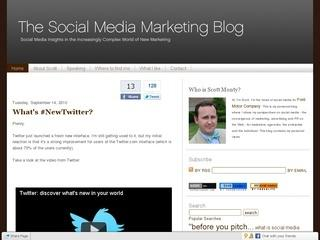 The Social Media Marketing Blog